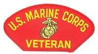 USMC VETERAN PATCH - HATNPATCH