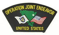 OPERATION JOINT ENDEAVOR PATCH - HATNPATCH