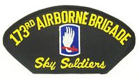 173RD ABN PATCH