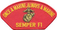 ONCE A MARINE... PATCH