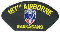 187TH ABN INF RGT PATCH - HATNPATCH