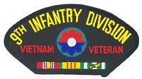 9TH INF DIV VIETNAM VET PATCH