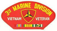 3RD MAR DIV VIETNAM VET PATCH