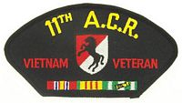 11TH ACR VIETNAM VET PATCH