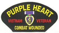 PURPLE HEART VIETNAM VET PATCH
