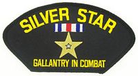 SILVER STAR PATCH - HATNPATCH