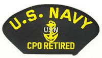 USN CPO RETIRED PATCH