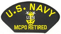 USN MCPO RETIRED PATCH