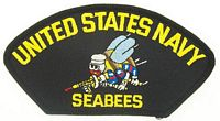 USN SEABEES PATCH - HATNPATCH