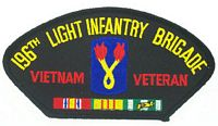 196TH INF VIETNAM VET PATCH