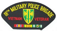 18TH MP VIETNAM VET PATCH - HATNPATCH