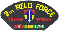 2ND FIELD VIETNAM VET PATCH