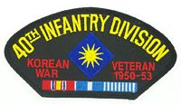 40TH INF KOREA PATCH