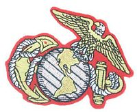 EAGLE, GLOBE AND ANCHOR PATCH - HATNPATCH