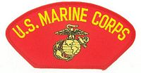 US MARINE CORPS PATCH - HATNPATCH