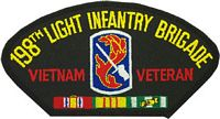 198TH LIGHT INF VIETNAM VET PATCH - HATNPATCH