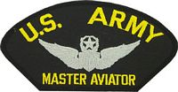 USA MASTER AVIATOR PATCH