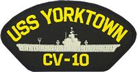 USS YORKTOWN PATCH - HATNPATCH