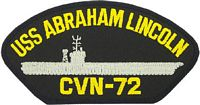 USS ABRAHAM LINCOLN PATCH