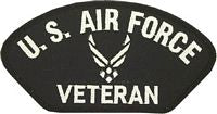USAF (NEW) VETERAN PATCH - HATNPATCH