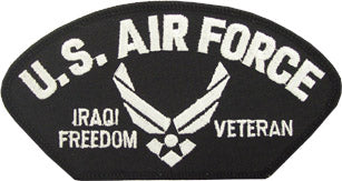 US AIR FORCE IRAQI FREEDOM VET PATCH