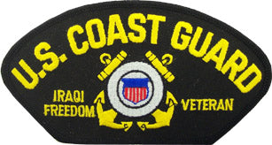 US COAST GUARD IRAQI FREEDOM VET PATCH - HATNPATCH