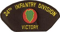 24TH INFANTRY DIVISION PATCH - HATNPATCH