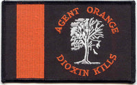 AGENT ORANGE DIOXIN KILLS PATCH