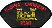 COMBAT ENGINEER IRAQ PATCH