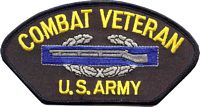 COMBAT VETERAN US ARMY PATCH