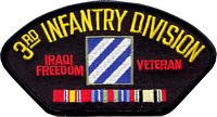 3RD INF DIV IRAQI FREEDOM VET PATCH - HATNPATCH