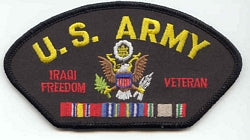 U.S. ARMY IRAQI FREEDOM VET PATCH