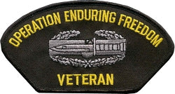 OPERATION ENDURING FREEDOM VETERAN PATCH - HATNPATCH