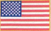 MED US FLAG PATCH