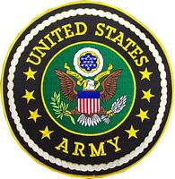 LG U.S. ARMY PATCH - HATNPATCH