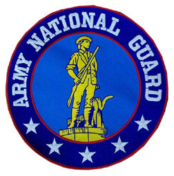 LG ARMY NATIONAL GUARD PATCH