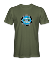 Operation Urgent Fury Grenada Veteran T-Shirt - HATNPATCH
