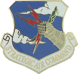 STRATEGIC AIR COMMAND HAT PIN