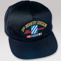 3RD ID OIF VETERAN HAT W/ RIBBONS - HATNPATCH
