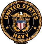 US NAVY MAGNET