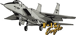 F-15 EAGLE MAGNET - HATNPATCH
