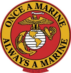 ONCE A MARINE MAGNET - HATNPATCH