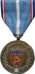 KOREAN WAR DISABLED VETERAN MEDAL - HATNPATCH