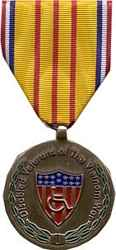 VIETNAM WAR DISABLED VETERAN MEDAL - HATNPATCH