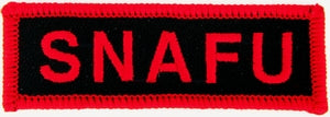 SNAFU PATCH - HATNPATCH
