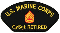 USMC GySgt Gunny E-7 RETIRED PATCH
