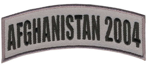 AFGHANISTAN 2004 TAB ROCKER PATCH - HATNPATCH
