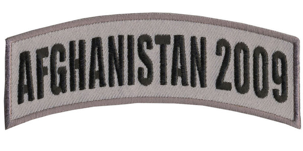 AFGHANISTAN 2009 TAB ROCKER PATCH - HATNPATCH