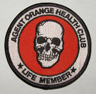 AGENT ORANGE HEALTH CLUB, LIFE MEMBER PATCH