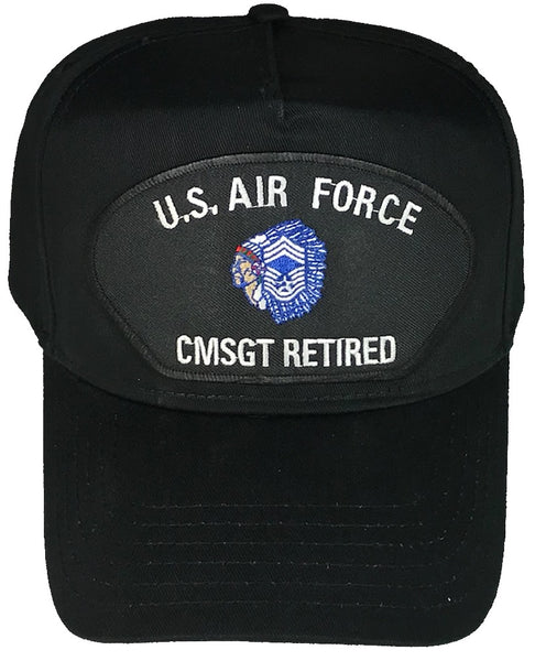 US AIR FORCE CMSGT RETIRED HAT - HATNPATCH